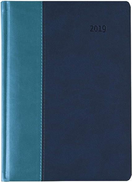 2019 Agenda giornaliera Premium Acqua 15x21 cm