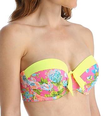 44c6afdcf0092 Amazon.com  Prima Donna Pool Party Strapless Padded Bikini Swim Top ...