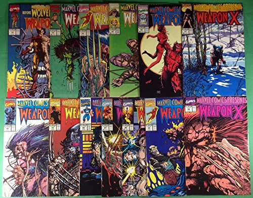 Marvel Comics Presents (1988) 72-84 complete Wolverine Weapon X set Barry Smith