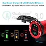Dual QC3.0 USB Car Charger, Opluz Quickly Charge