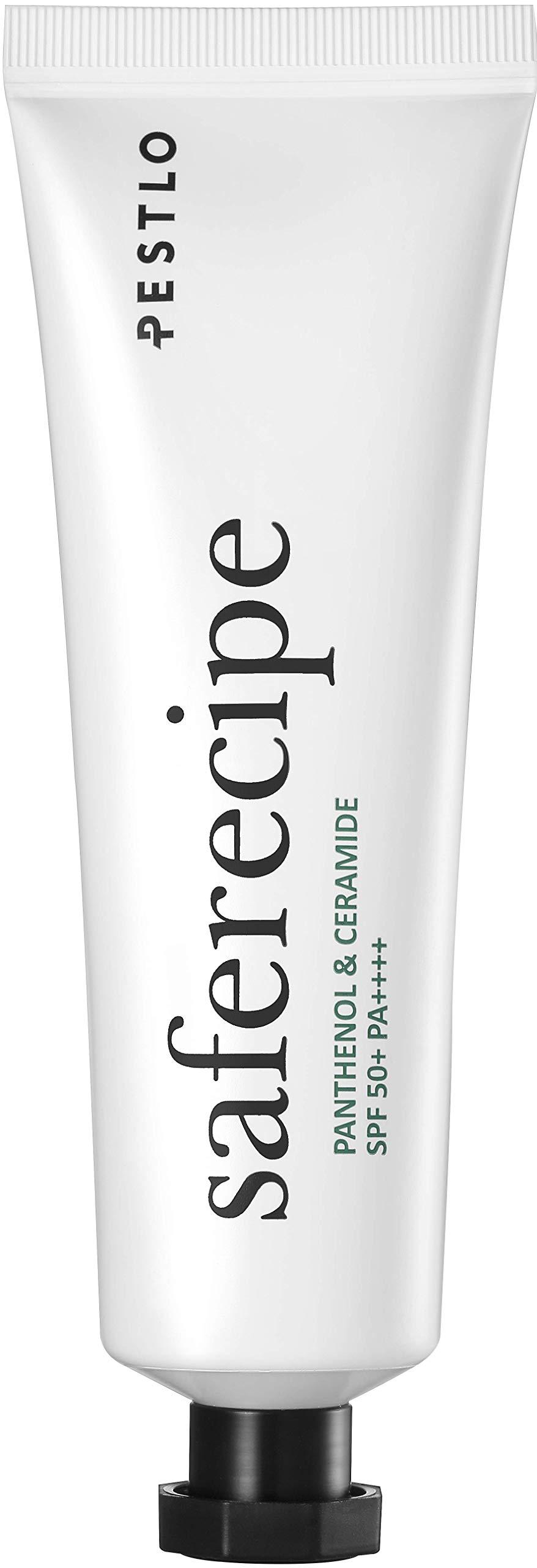 Pestlo Safe Recipe Sun Essence - Natural Facial Sunscreen Moisturizer, Hypoallergenic Korean Cosmetics - 50ml by PESTLO PESTLE+ROAD