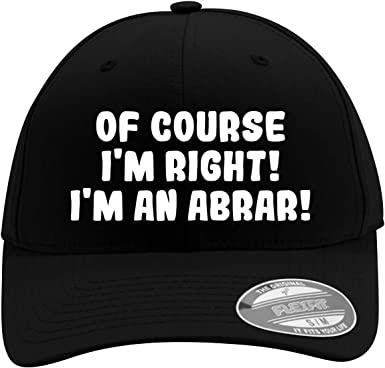 Im A Guevara! of Course Im Right Mens Flexfit Baseball Cap Hat
