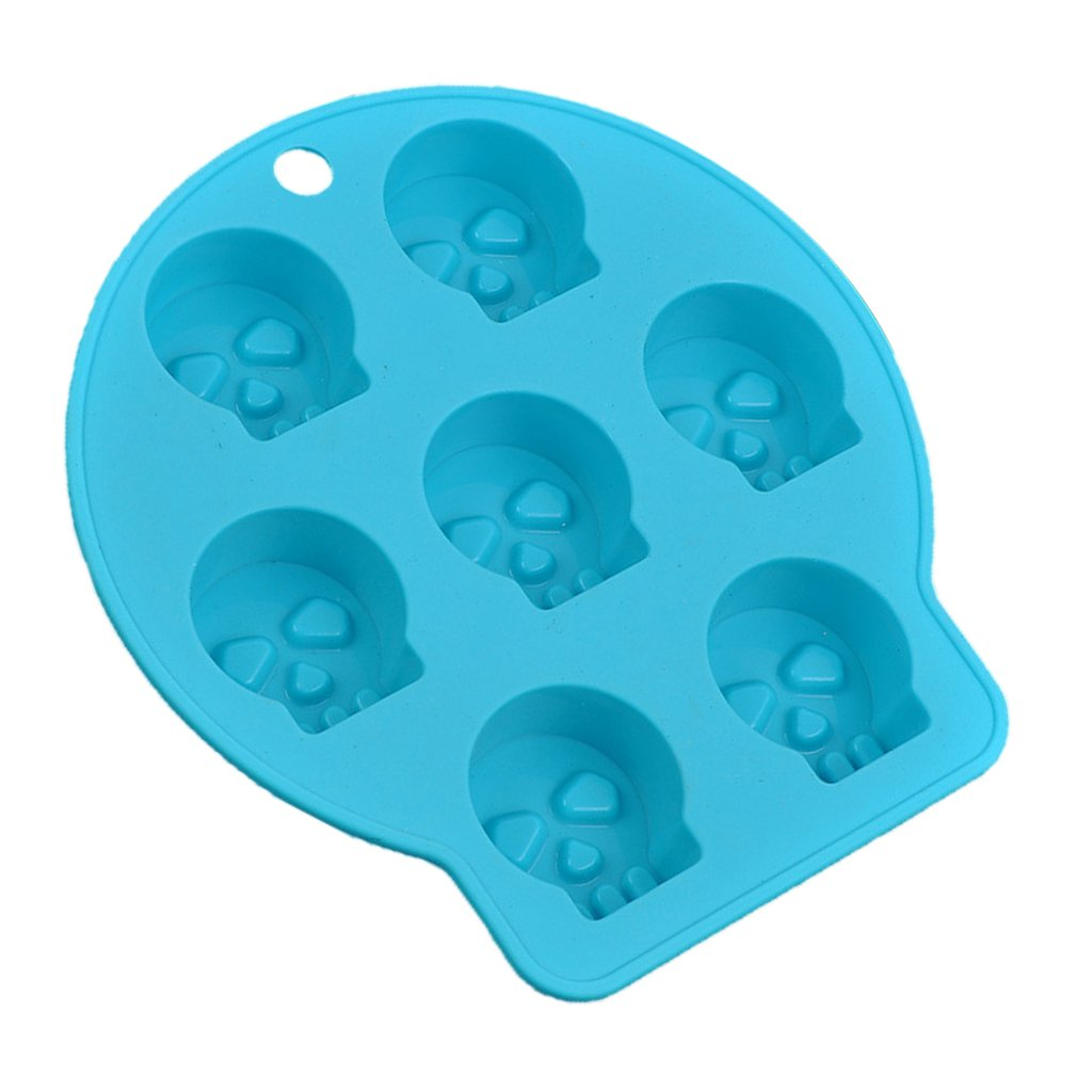 Ghost Fenteer Fancy Cake Cute Shapes DIY Ice Cube Cubes Silicone Tray Mold Mould Fridge Freezer Safe 4 Style Chooese as described