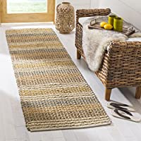 Safavieh Organica Collection ORG411A Hand-Knotted Multicolored Wool Runner (2 x 8)
