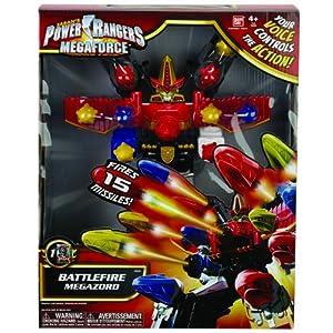 Power Rangers Megaforce BattleFire Ultra Gosei Great Megazord