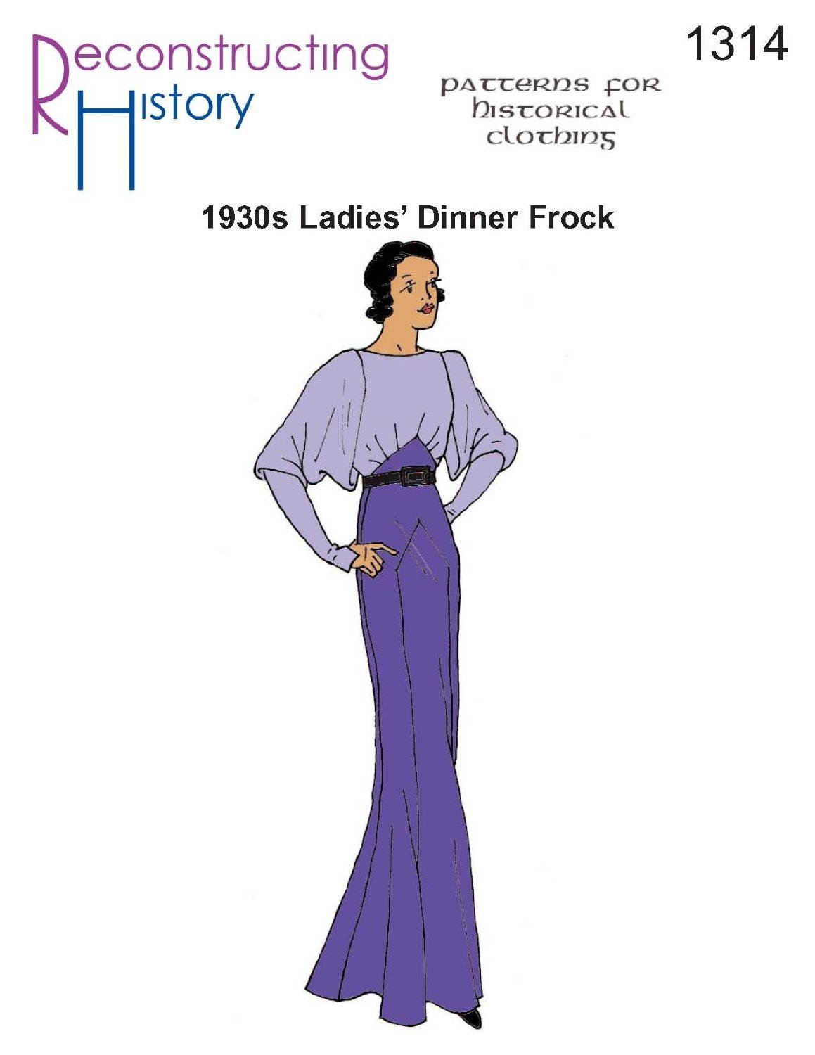 1930s Evening Gown by Reconstructing History   B008165FP0