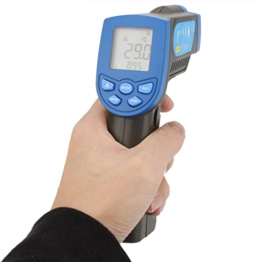 Amazon.com: Termometro Infravermelho Non-contact 12:1 Digital Infrared IR Thermometer Laser Temperature Gun Sensor Tester Range -30~320?: Everything Else