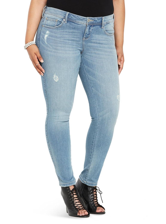 Torrid Premium Stretch Luxe Skinny Jeans - Light Wash