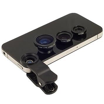 Runfon Lente Gran Angular Acro Smartphone de Clip on Tipo para ...