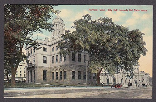 Hartford CT City Hall formerly Old State House postcard 1910s