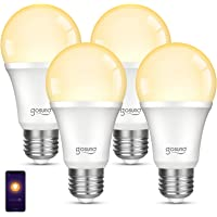 4-Pack Gosund Dimmable Wi-Fi LED Smart Light Bulb