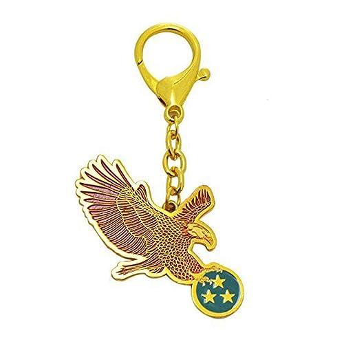 Amazon.com: Feng Shui águila roja Llavero para quarrelsome ...