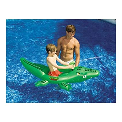 Amazon.com: Swimline Croc Attack inflable piscina Juguete ...