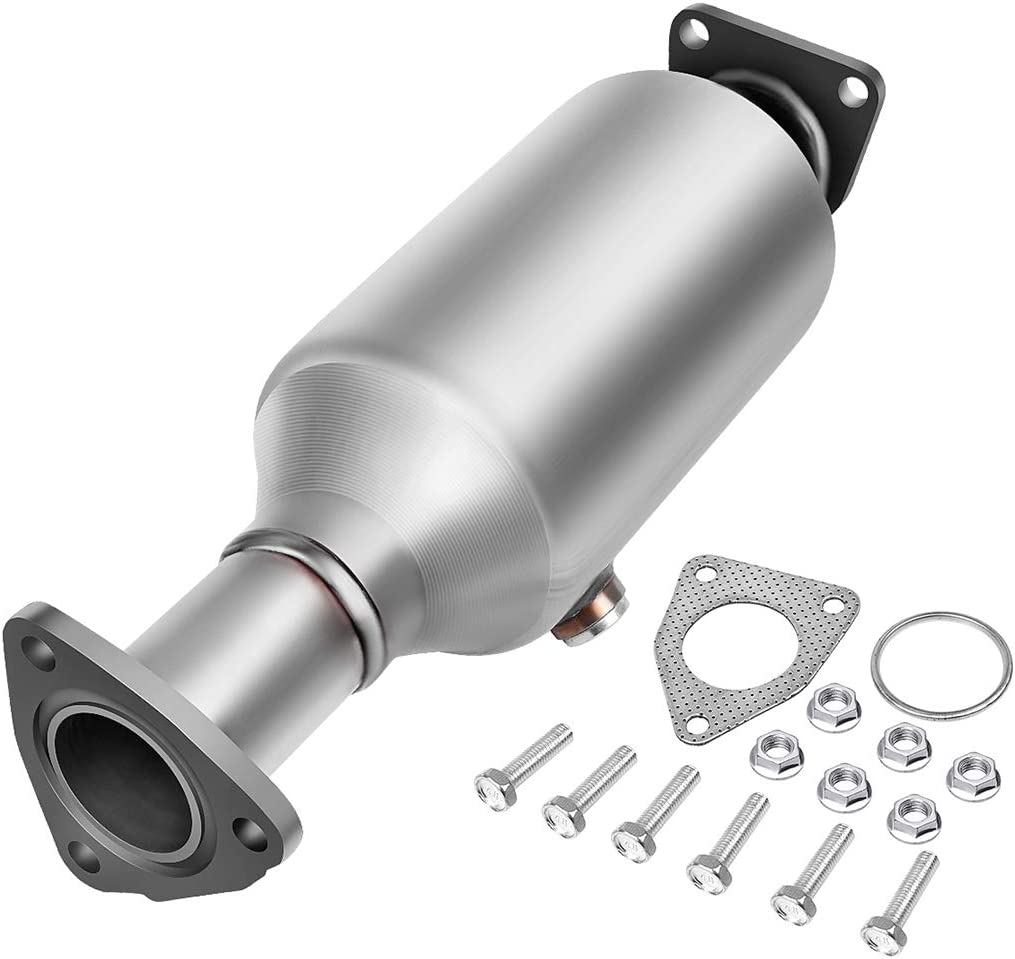 Catalytic Converter Compatible with 1998-2002 Honda Accord 2.3L Direct-Fit Stainless Steel High Flow Series (EPA Compliant)
