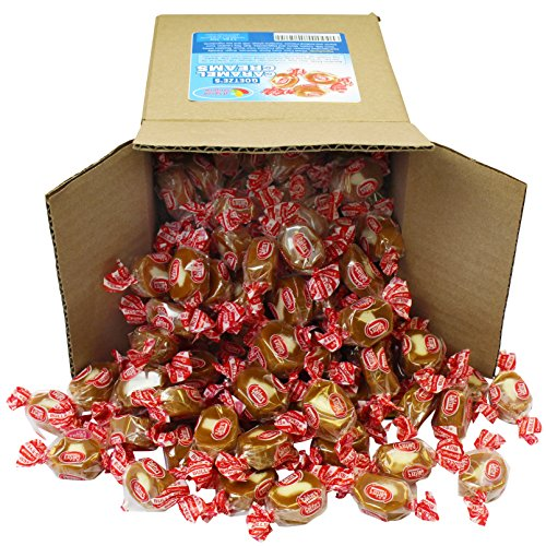 Goetze's Caramel Creams in 6x6x6 Box Bulk Candy,72 oz -