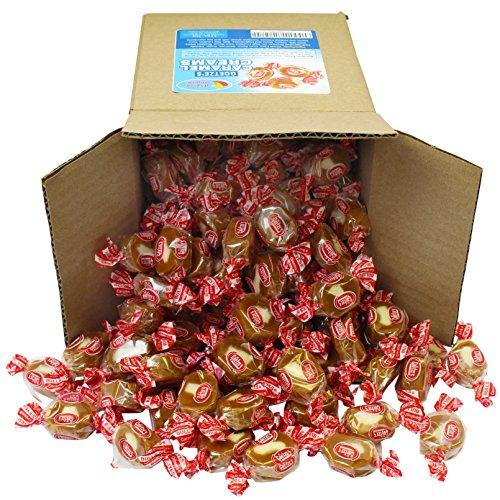 - Goetze's Caramel Creams in 6x6x6 Box Bulk Candy,72 oz