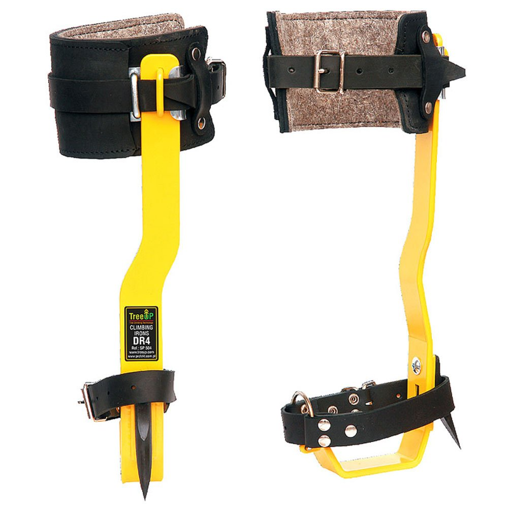 orange TreeUp Crampons DR-4 Crampons Accrobranche aides Accessoires forestiers
