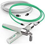 Crossrope Jump Rope Get Lean Set -Medium - Speed Rope + Strength Rope - Improve Fitness and Lose Weight in a Fun Workout - Meet Your Weight Loss Goals with a Gym You Can Take Anywhere