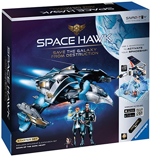 Ravensburger Space Hawk Starter Set Includes Spacehip & Expansion Dawn of The Dark Heart ()