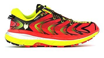 Zapatilla trail running Hoka Speedgoat 2, color rojo, talla 40 1/3 EU