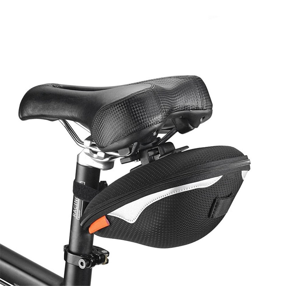 LLTS Fahrradsitz Schlauchschwanzbeutel Mountainbike Rennrad Station Kombi Faltrad Schwanz Tasche - Qualität Aufbewahrungstasche für Fahrrad