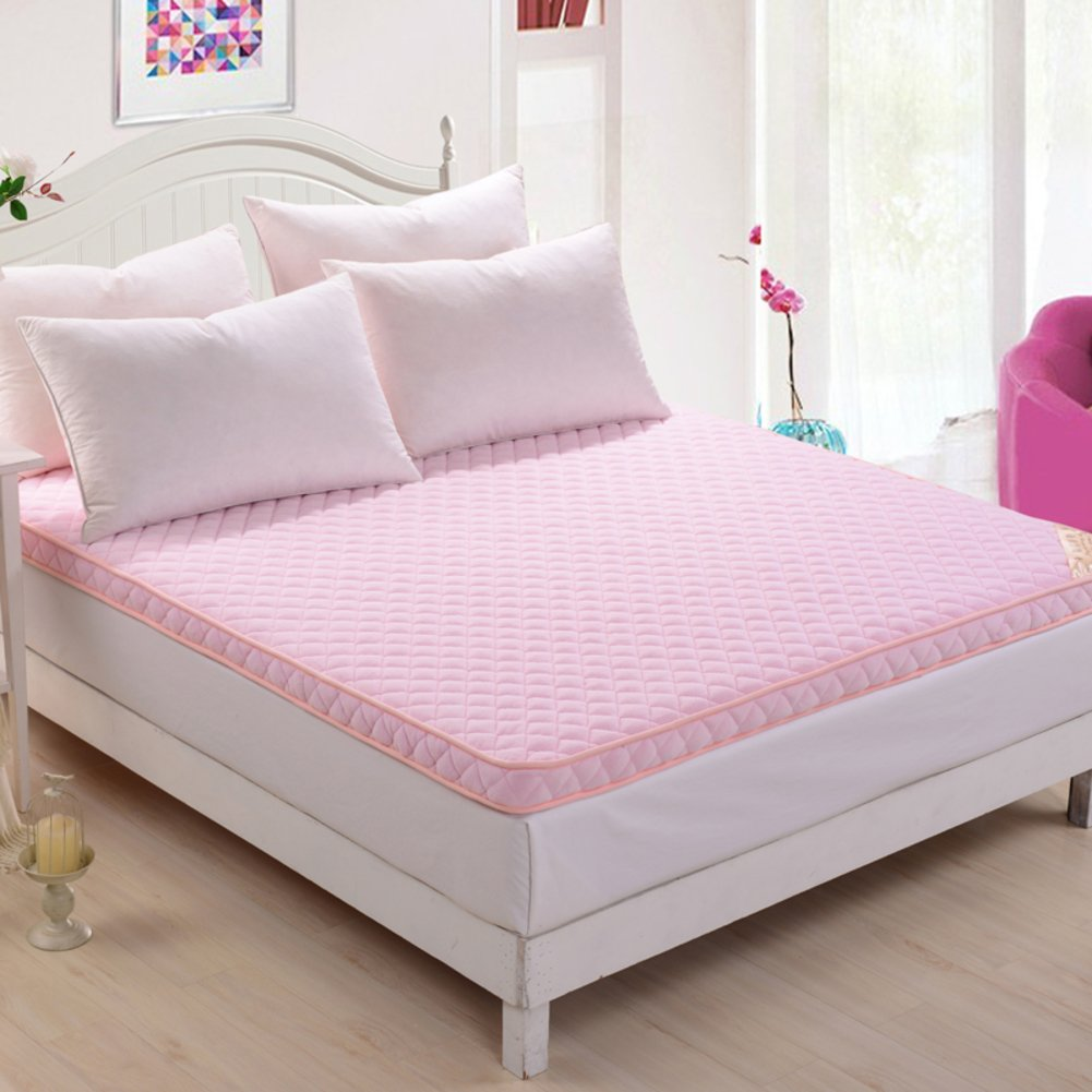 N 90x200cm(35x79inch) Thickened Moisture Mattress Student Dormitory Mattress Warm Tatami Mattress Foldable Double Floor Carpet-K 180x200cm(71x79inch)