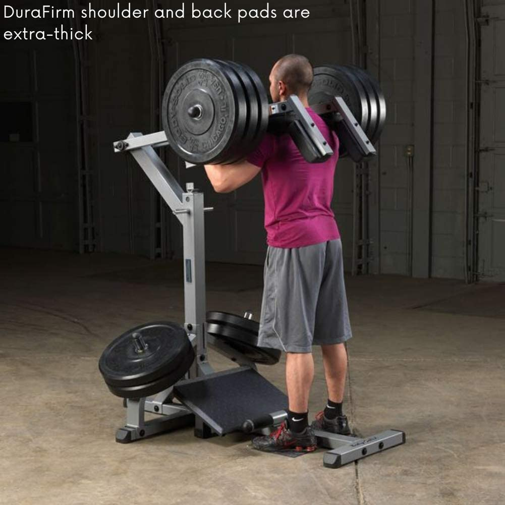 Body-Solid Leverage Squat and Calf Raise Machine GSCL360