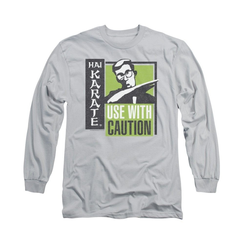 Sons of Gotham Hai Karate Karate Chop Adult Long Sleeve T-shirt Xl by Sons of Gotham