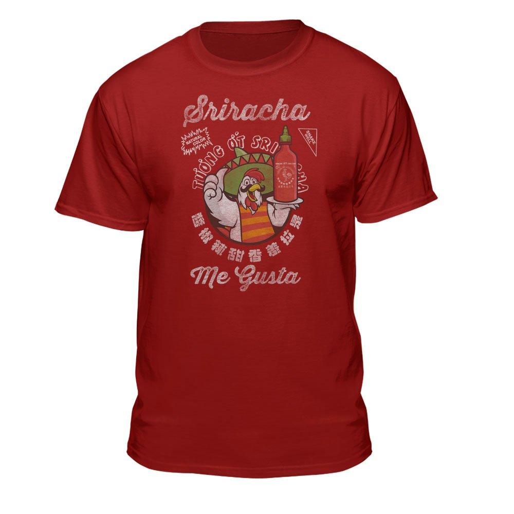 Me Gusta Sriracha Hot Chili Sauce S Graphic Shirts