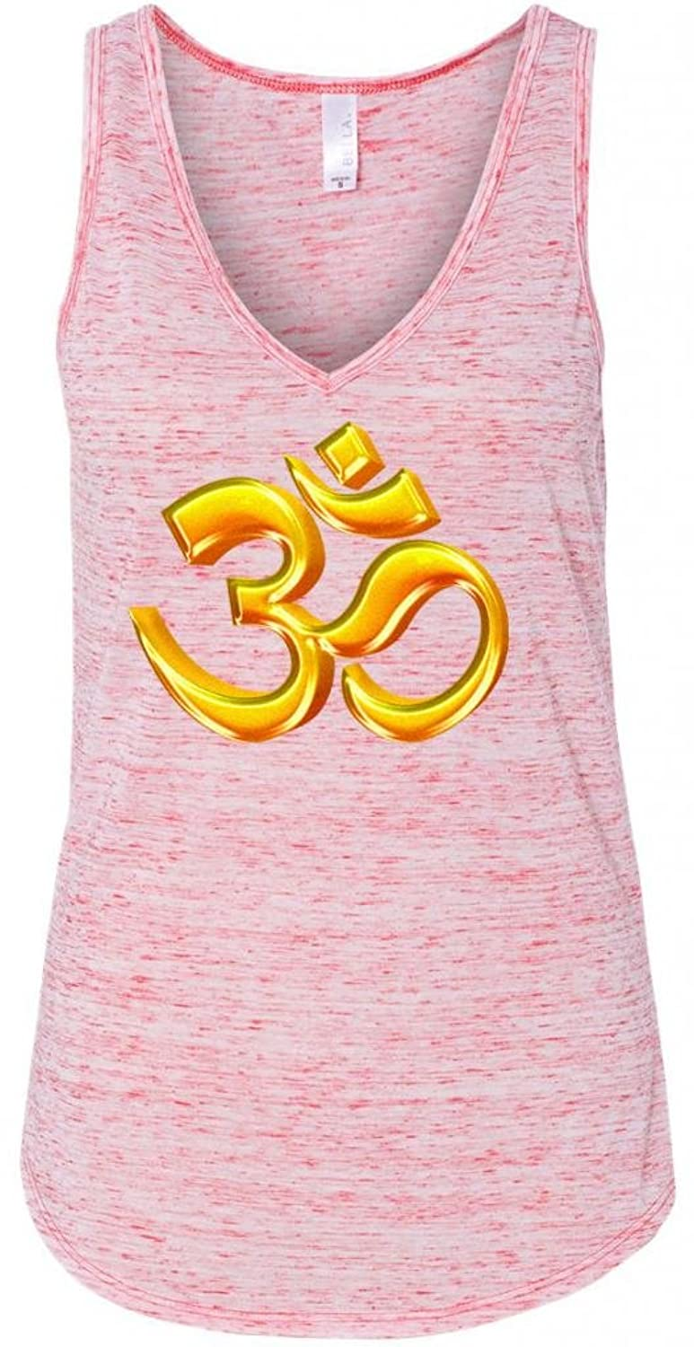 Yoga Clothing For You Ladies 3D OM Flowy Tank Top
