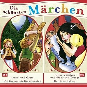 Hänsel und Gretel / Die Bremer Stadtmusikanten / Schneewitchen und die sieben Zwerge / Der Froschkönig (Grimms Märchen) Hörspiel