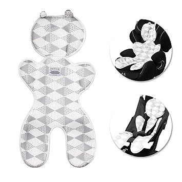 Kindersitz /& Babyschale Buggy Atmungsaktive Sommer Sitzauflage für Kinderwagen