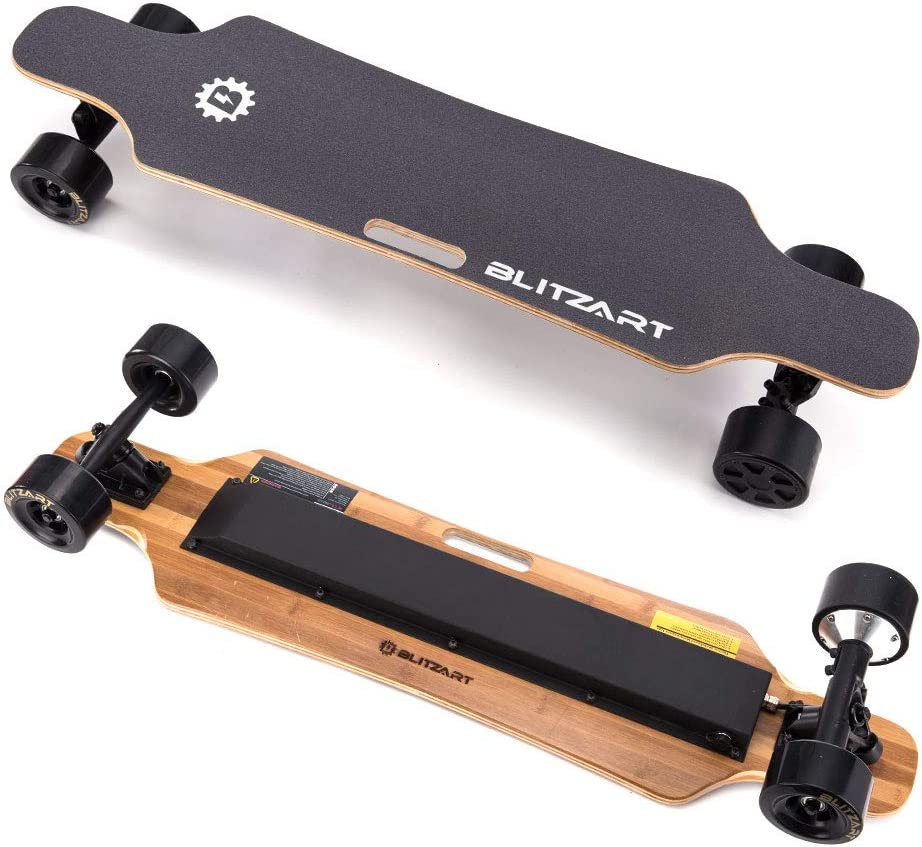 "best electric longboards: BLITZART Huracane 38"" Electric Longboard"