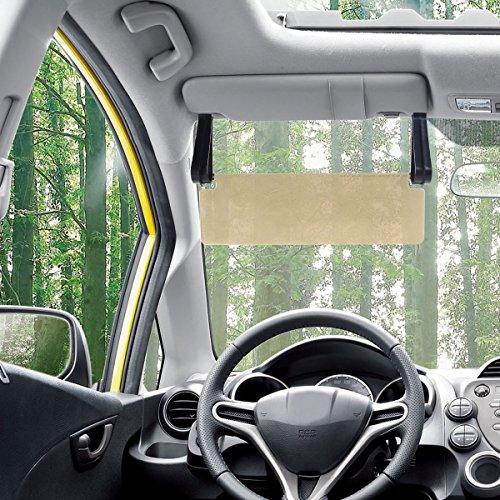 pixnor durable anti glare anti dazzle clip on auto car sun visor mirror sun shield buy online. Black Bedroom Furniture Sets. Home Design Ideas