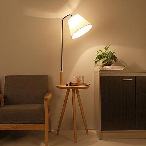 AMOS Lampada da terra lampada da salotto scaffali moderni moderni ...