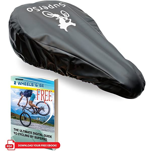 Waterproof Bicycle Seat Cover Elastic Rain Dust Resistant Bike Hot F4P1 R9F2