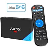 TRUEWELL A95X A2 Android 6.0 tv box with 2G RAM 16G ROM Octa-core 64  Bits Support Dual Band 2.4G/5G Wifi 4K Ultra HD BT 4.0 (2G+16G)