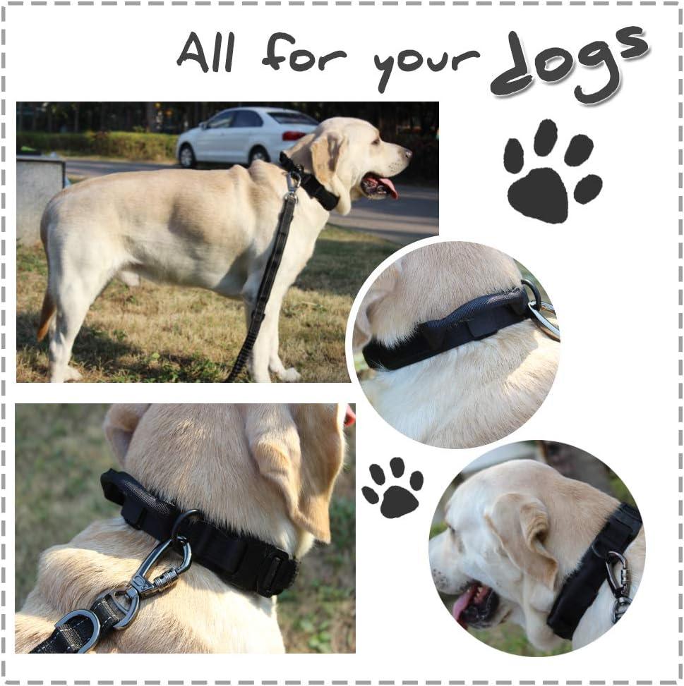 Yunlep K9 - Collar táctico Ajustable para Perro, Nailon Militar ...