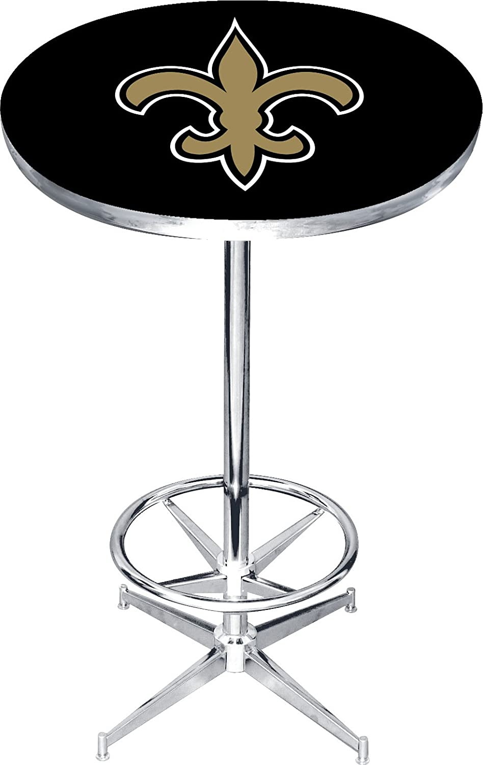Imperial Officially Licensed NFL家具ラウンドpub-styleテーブル New Orleans Saints New Orleans Saints B01LZMVG5S