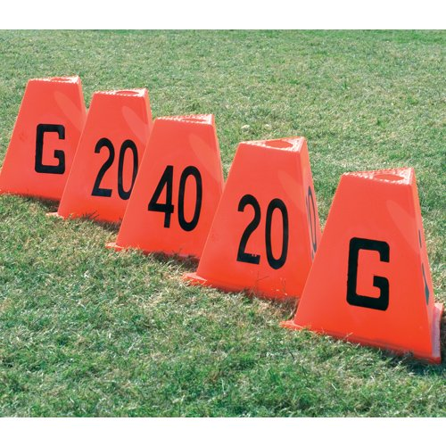 Image of Stackable Sideline Markers - 5 Piece Set