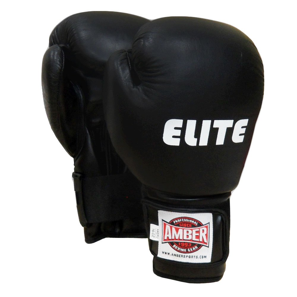 Amber Elite Fight Gear Moulded Pro Training Gloves 16oz Amber Sporting Goods Inc - Dropship AAAERO-16
