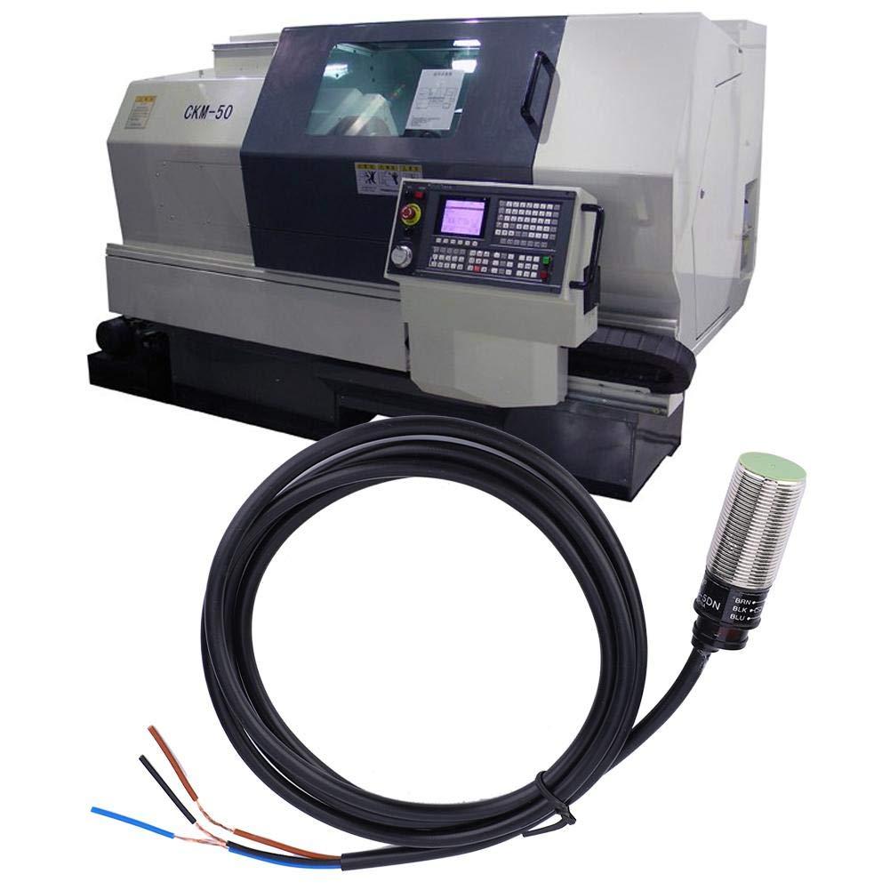 Inductive Proximity Sensor,PR18-5DN Proximity Switch Inductive 3-Wire NO NPN Sensor Internal Amplifier Switch 10~30VDC 5mm