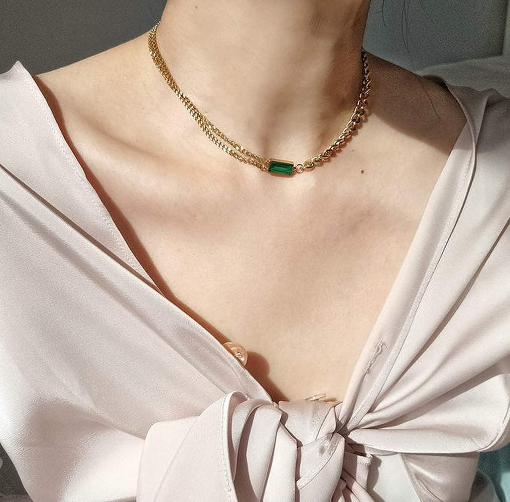 Estate Gold Tone  Necklace Chocker 17\u201d R