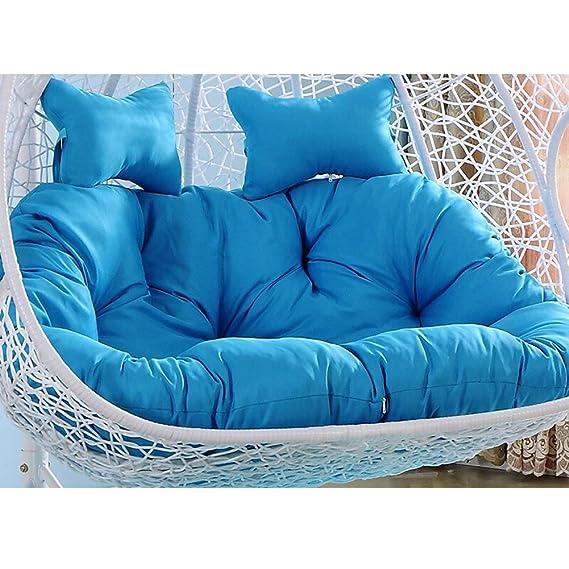 Amazon.com: YEARLY Egg Nest Shaped Cushions, Basket Cushion Wicker ...