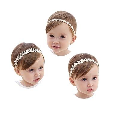 JMITHA Bébé Bandeau Enfants Cristal Perle Bandeau Bandeaux Strass  Accessoires De Photographie (01) aef910824ff