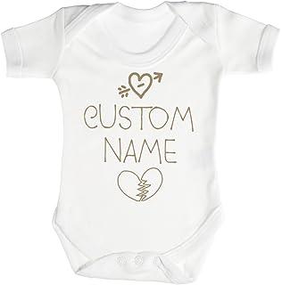 dffcd8256 Spoilt Rotten Personalizados Bebé Custom Name Camisillas Para Bebé - Body Para  Bebé Niño - Body Para…