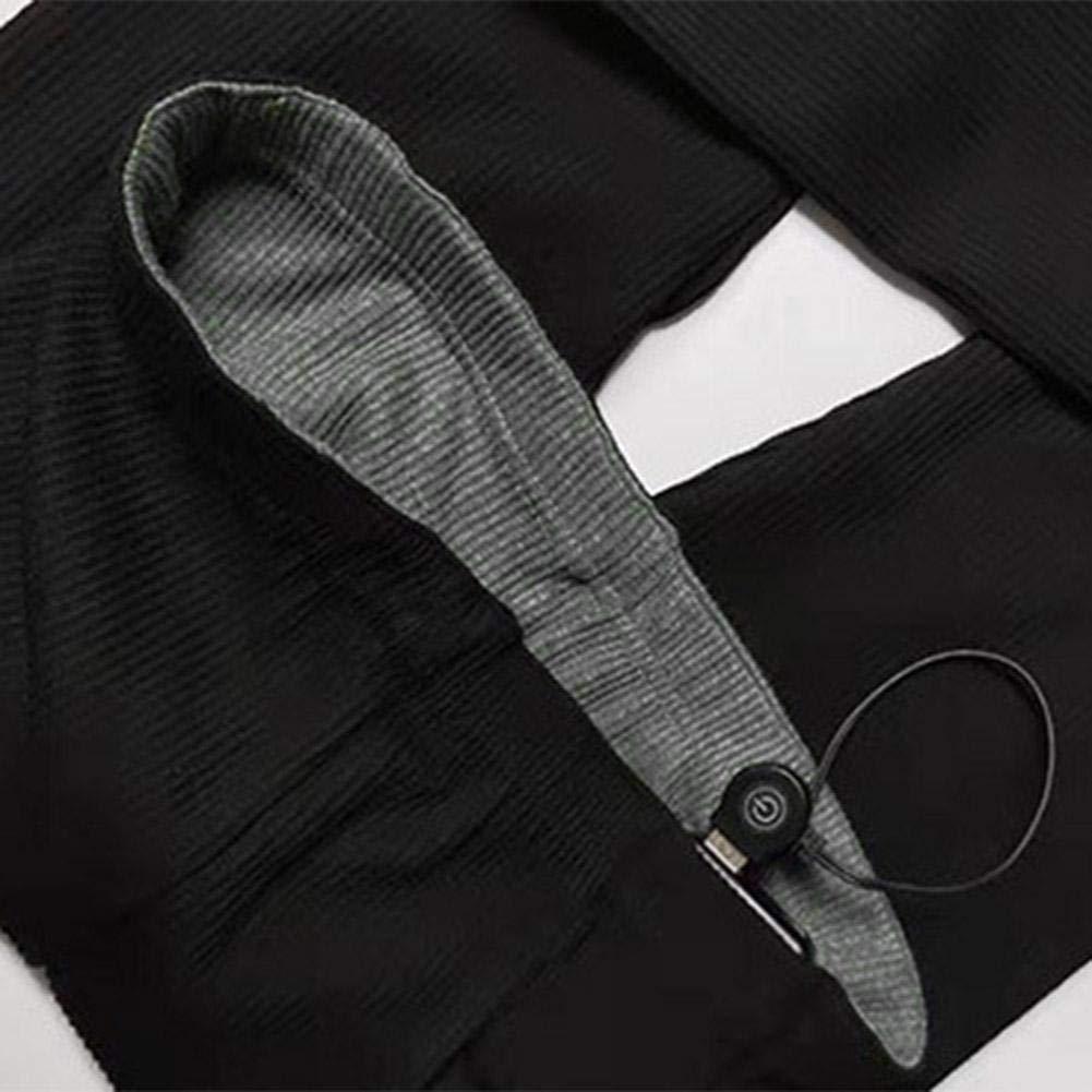 Yunt-11 Pantaloni riscaldati USB Pantaloni Baselayer riscaldati Slim Fit per Campeggio Esterno Freddo Pantaloni isolanti Ricaricabili da Donna Escursionismo