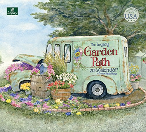 Legacy Publishing Group 2016 Wall Calendar, Garden Path (WCA21223)