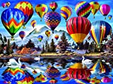 hot air balloon puzzle - Hot Air Balloons 1000 Piece Jigsaw Puzzle by SunsOut