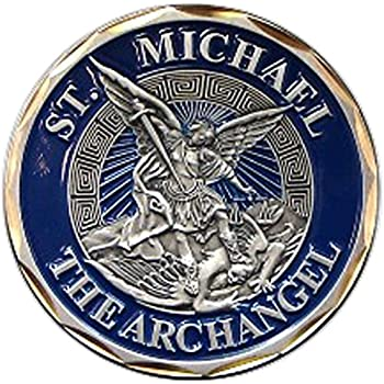 Amazon Com St Michael The Archangel Challenge Coin Toys